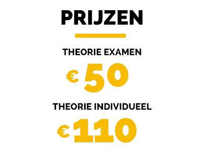 Theorie prijzen tabel